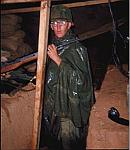 Wet Night in a rifle bunker